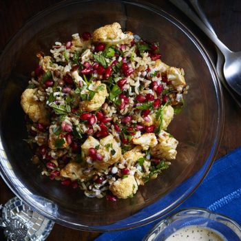 Cauliflower Salad With Tahini Dressing Recipe
