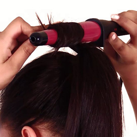 easy hairstyles curl