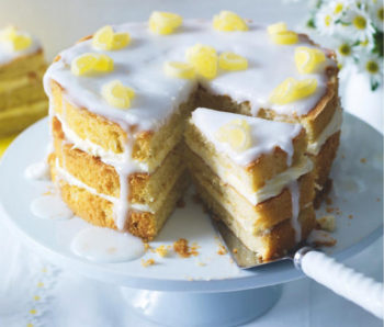 royal wedding lemon drizzle cake