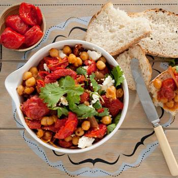 vegetarian dishes sweet piquante pepper casserole