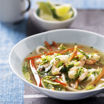 bowl meal ideas prawn