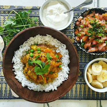 vegetarian dishes lentil curry