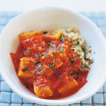 vegetarian dishes butternit squash tagine
