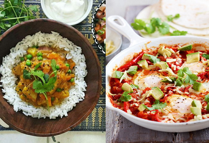 5 Filling Vegetarian Dishes