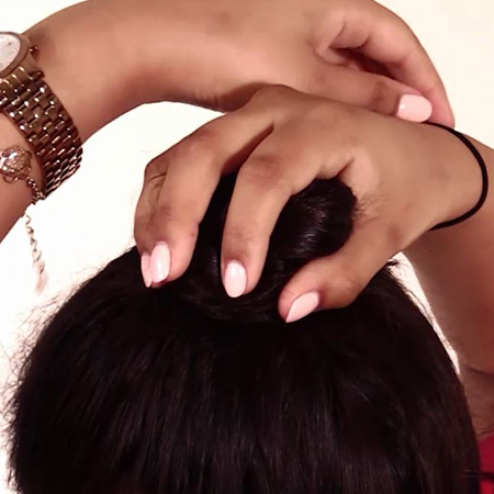easy hairstyles bun