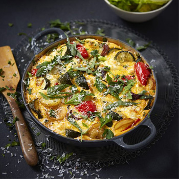 keto diet plan vegetable frittata