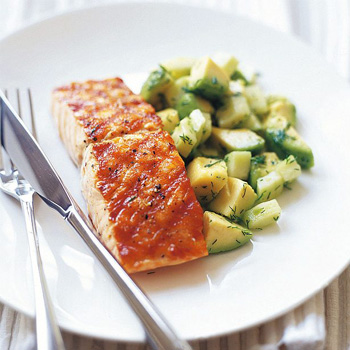 keto diet plan salmon