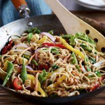 Satay Vegetable Stir-Fry Recipe