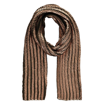 elegant scarf options metallic