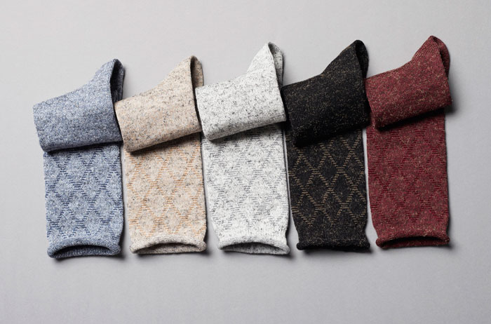 Win 1 of 10 Falke gift boxes containing 2 pairs of Rustic Argyle boot socks, valued at R240 each!