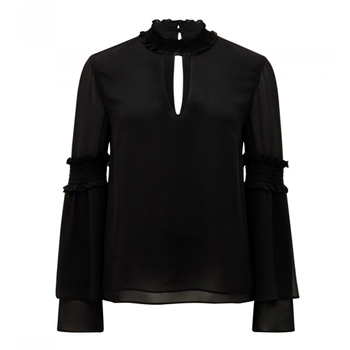 drew barrymore's style blouse