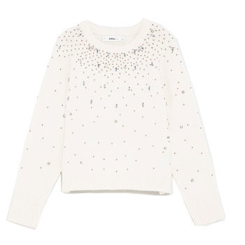 embellished knit