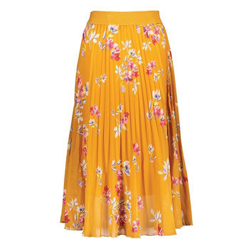 floral skirt to wear with a knit