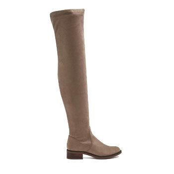 knee high boots to pair with a knit