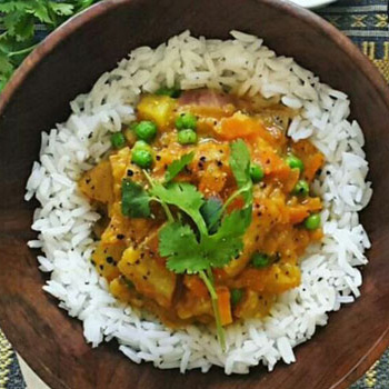 curry recipes vegetarian