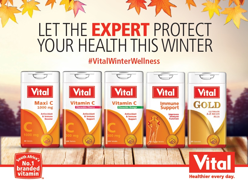 Win One Of Two Vital Health Foods Hampers Worth R2500 Each