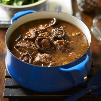 Beef in Stout with Shiitake Mushrooms Recipe