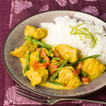 curry recipes dairy free pork