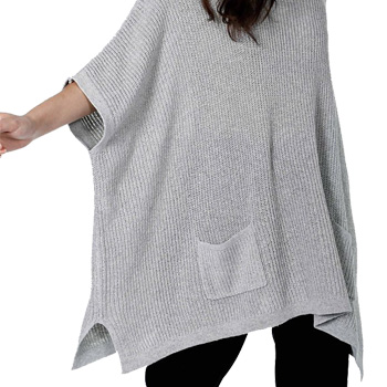 ways to wear leggings poncho
