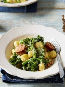 Simple Gnocchi With Crispy Chorizo And Broccoli Recipe