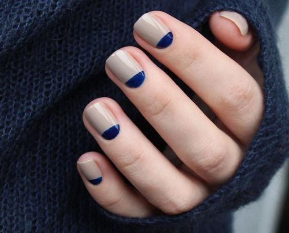 nail trends reverse french
