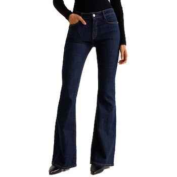slimming clothes bootleg jeans