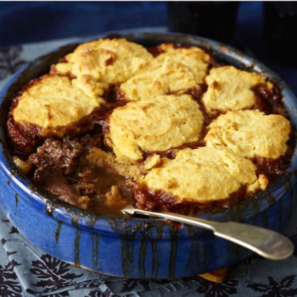 Braised Oxtail Stew and Dumplings Recipe
