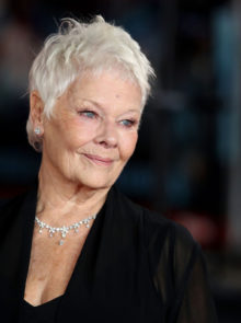Judi Dench On Her Failing Eyesight