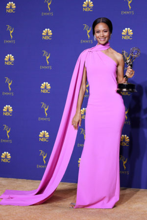 thandie newton best red carpet dress