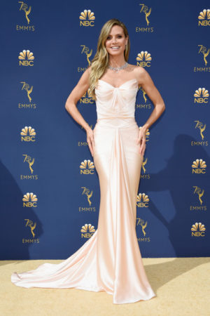 Red carpet dresses Emmys