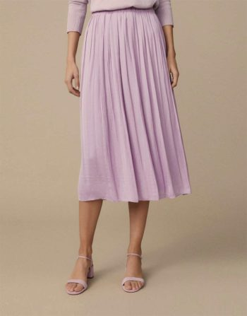 Fashion tips soft pleat skirt