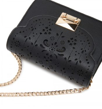 Fashion tips embellished bag