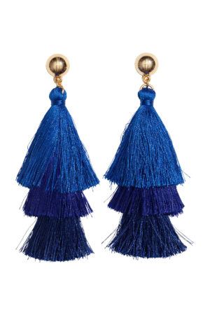 Fashion tips tasselled earrings