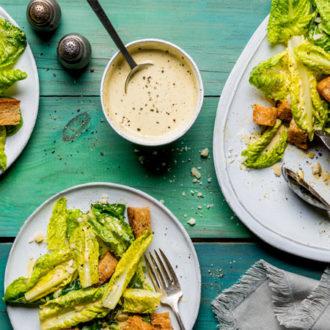 Crunchy Tabasco-inspired Caesar Salad for Summer