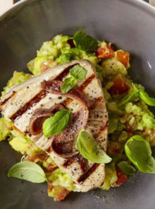 Tuna And Creamy Avocado Salad Recipe
