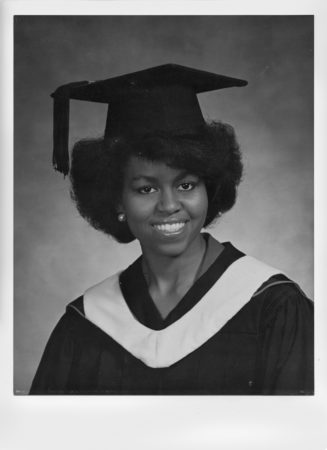 Michelle Obama graduates from university