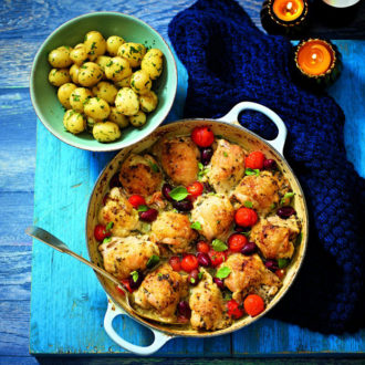 One Pot Mediterranean Chicken Recipe