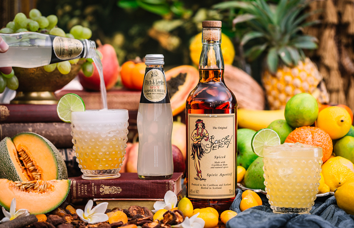 Refreshing Rum and Spicy Ginger Beer Cocktail Recipe