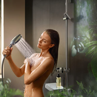 Win 1 Of 3 Hansgrohe Raindance Select S hand showers with the PowderRain Spray type