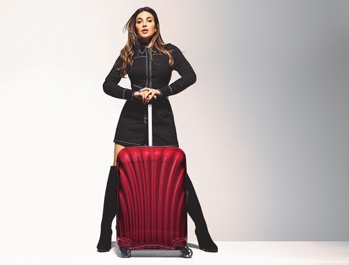 Win A Samsonite Cosmolite 55cm Spinner Suitcase Worth R6 499