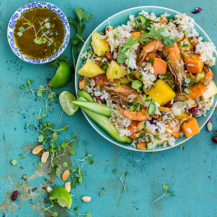 Luxury Prawn And Rice Salad Recipe