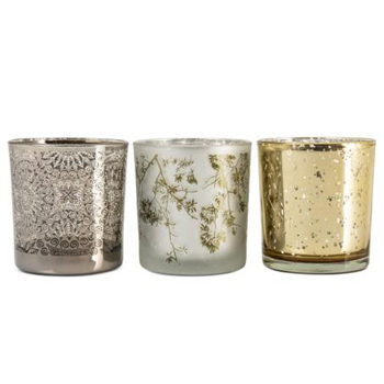 metallic votives