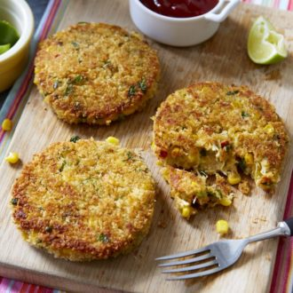Crab Fritters With Sweetcorn Recipe