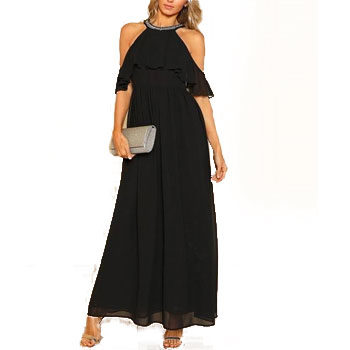 embellished maxi dress for new year's eve