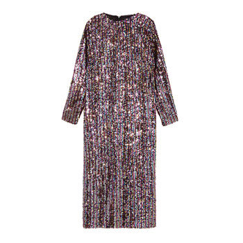 Glam shift sequins dress for new year's eve