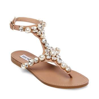 summer embellished sandals