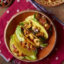 Prawn Tacos with Chilli and Salsa Recipe