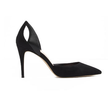 nicole kidman black pointy stiletto