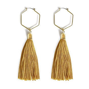 work wear statement earrings