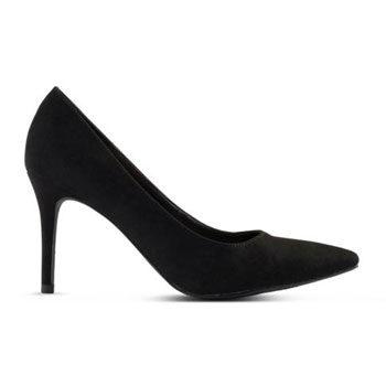 classic black court work wear heel